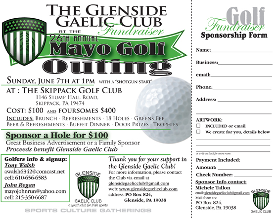 golf outing flyers